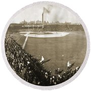 World Series, 1906 Round Beach Towel