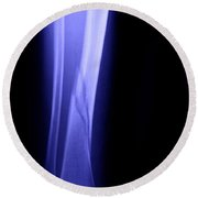 X-ray Of Fractured Tibia Round Beach Towel
