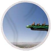 X Scream Las Vegas Round Beach Towel