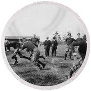 Yale: Football Practice Round Beach Towel