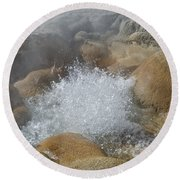 Yellowstone Hot Springs 9499 Round Beach Towel