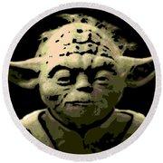 Yoda Round Beach Towel