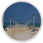 Yukatan Dream Round Beach Towel