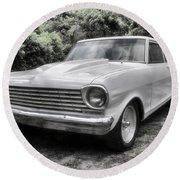 1963 Chevy Nova II Round Beach Towel