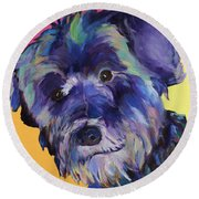 Beau Round Beach Towel