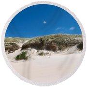 Dunes Of Danmark 2 Round Beach Towel