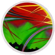 Great Expectations 1.0 Round Beach Towel