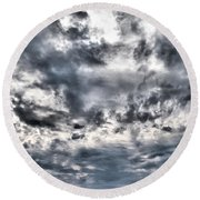 Mental Seaview Round Beach Towel