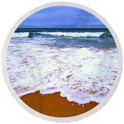 Montauk 1 Round Beach Towel