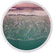 Montauk 2 Round Beach Towel by Cindy Greenstein