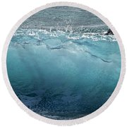 Surf Starter, Kekaha Beach Round Beach Towel
