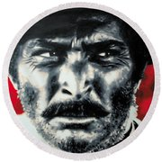 - The Good The Bad And The Ugly - Round Beach Towel