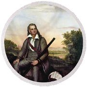 John James Audubon Round Beach Towel