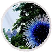 01142017076 Round Beach Towel