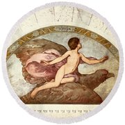 Ganymede, C1901 - To License For Professional Use Visit Granger.com Round Beach Towel