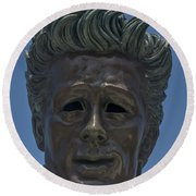 0439- James Dean Round Beach Towel