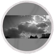 05222012057 Round Beach Towel