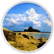 05222012101 Round Beach Towel