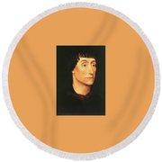 07505 Rogier Van Der Weyden Round Beach Towel