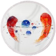 090825 Round Beach Towel