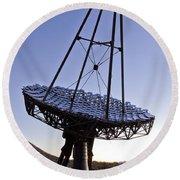 12m Gamma-ray Reflector Telescope Round Beach Towel