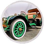1914 Renault Type Ef Victoria Round Beach Towel