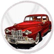 1946 Lincoln Continental Mk I Round Beach Towel