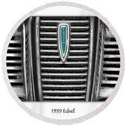 1959 Edsel Round Beach Towel