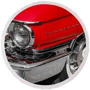 1960 Cadillac Round Beach Towel