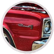 1966 Dodge Coronet 500 426 Hemi Round Beach Towel
