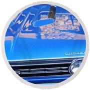 1967 Chevrolet Chevelle Super Sport  Round Beach Towel