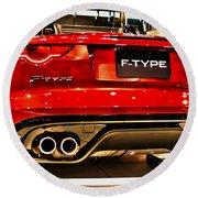 2016 Jaguar F-type Round Beach Towel
