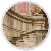 2541- Palace Of Fine Arts Round Beach Towel