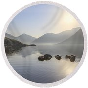A Place Called Morning Round Beach Towel