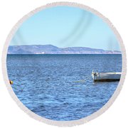 Aegadian Islands - Sicily Round Beach Towel