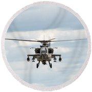 Ah-64 Apache Round Beach Towel