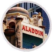 Aladdin Hotel Casino Round Beach Towel