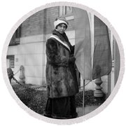 Alice Paul (1885-1977) Round Beach Towel