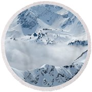 Alpine Round Beach Towel