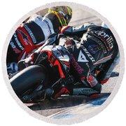 Aprilia Racing Team Gresini Round Beach Towel