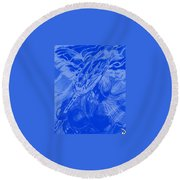 Aquaman Round Beach Towel