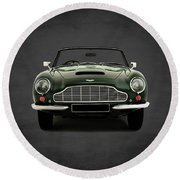 Aston Martin Db6 Round Beach Towel