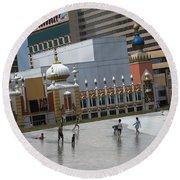Atlantic City Hotels Board Walks Beaches Entertainment Centres Tajmahal Hotel Americas Best Photogra Round Beach Towel