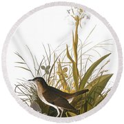 Audubon: Thrush Round Beach Towel