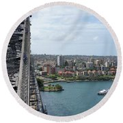 Australia - Kirribilli And Sydney Harbour Bridge Round Beach Towel