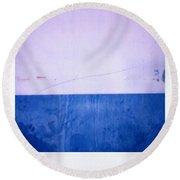 Azul Round Beach Towel