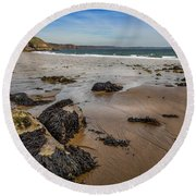 Barafundle Bay Round Beach Towel