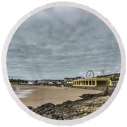 Barry Island Round Beach Towel