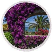 Beautiful Ischia Round Beach Towel