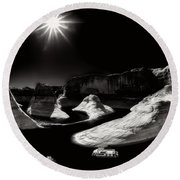 Beautiful Lake Powell Round Beach Towel